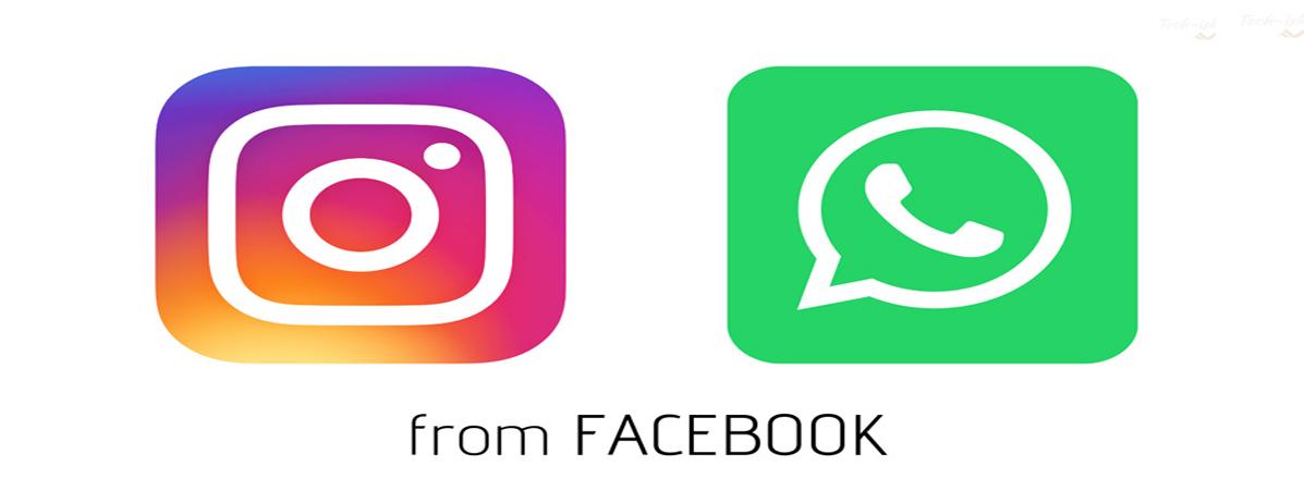 اینستاگرام و واتساپ