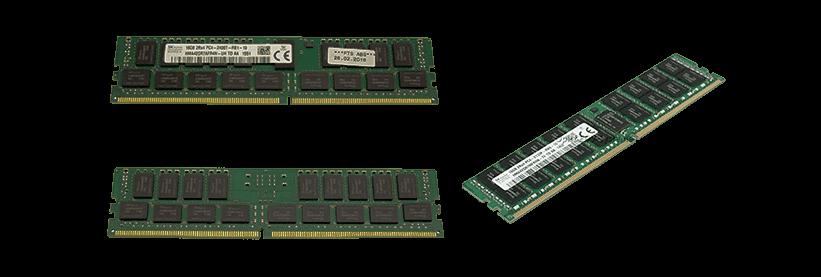 بررسی حافظه رم سرور HP TM200